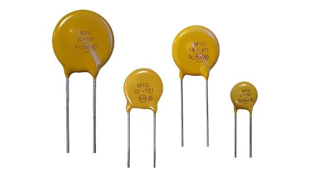 MYG过压保护型压敏电阻器