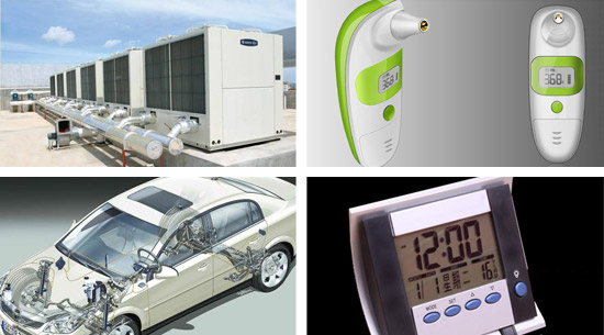 玻封测温型NTC热敏电阻器MF51系列